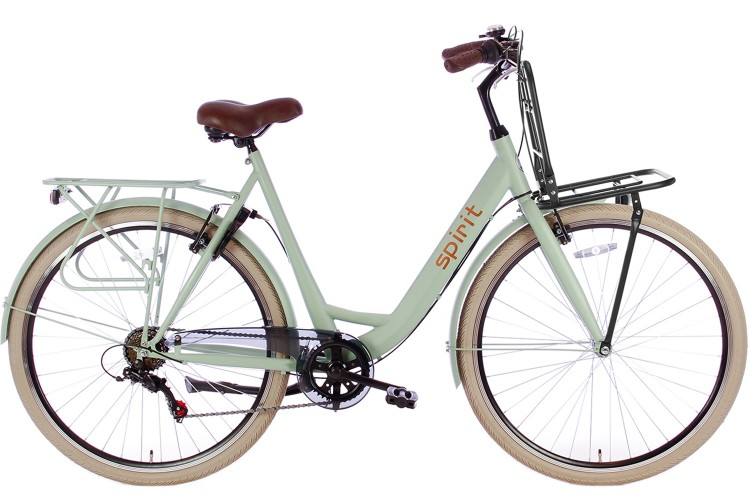 Spirit Bright Plus Damesfiets 6-Speed Groen