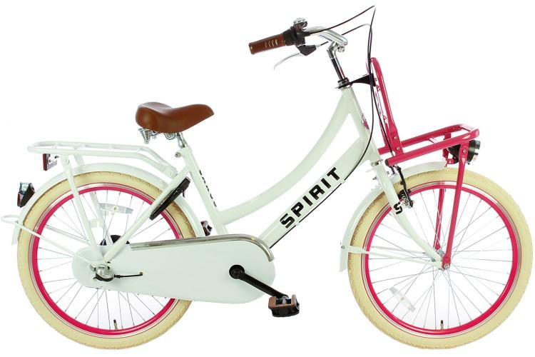 Spirit Cargo N3 Wit-Roze Meisjesfiets 22 inch