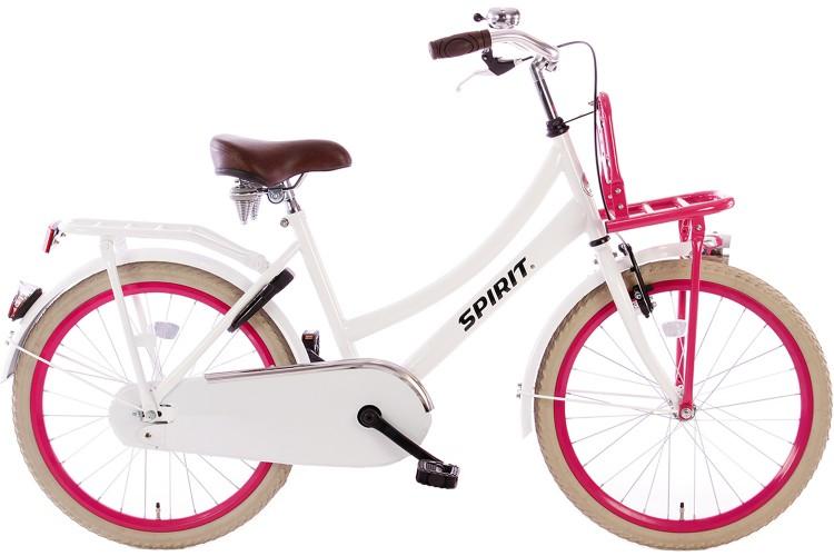 Spirit Cargo Wit-Roze Meisjesfiets 22 inch