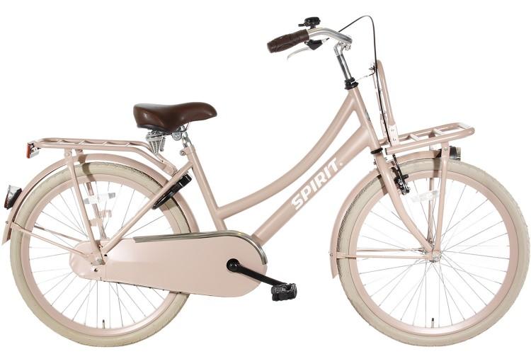 Spirit Cargo Meisjesfiets Zalm-roze 24 inch