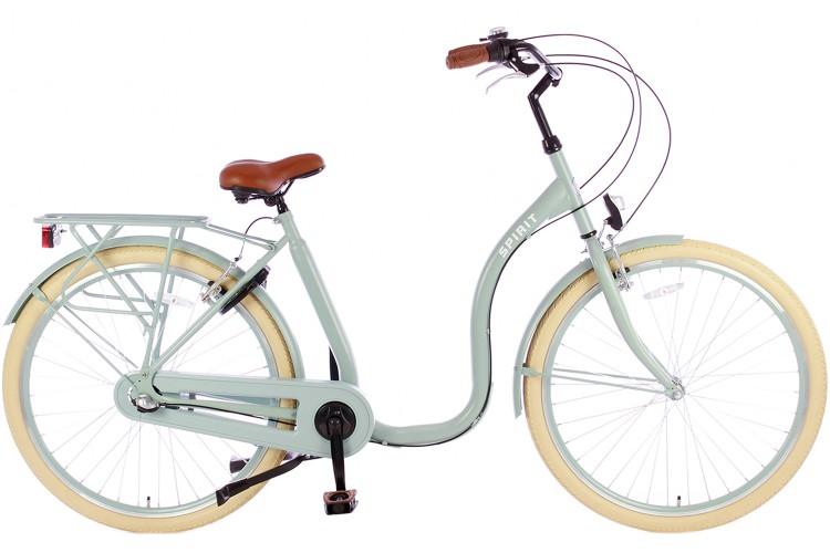 Spirit Easy N3 Lage instap fiets Groen
