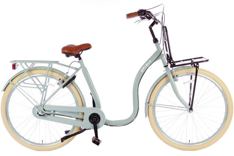 Spirit Easy N3 Plus Lage instap fiets Groen