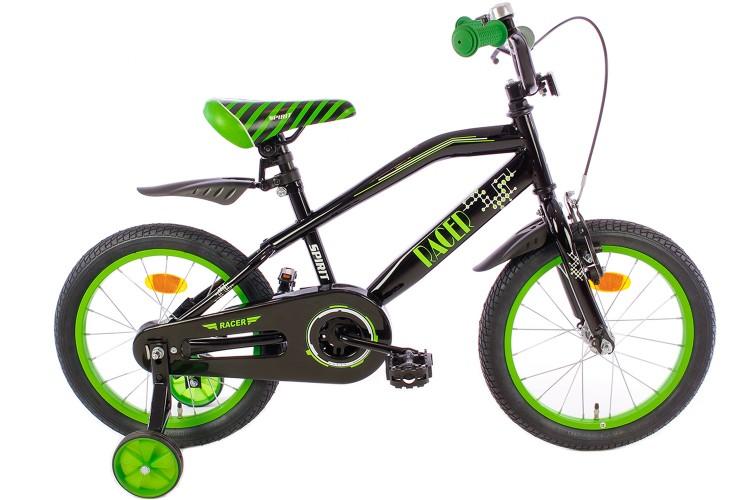 Spirit Jongensfiets Racer groen 14 Inch