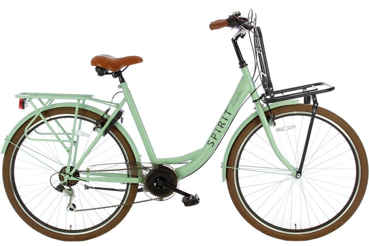 Spirit Regular Plus Damesfiets 7-Speed Groen