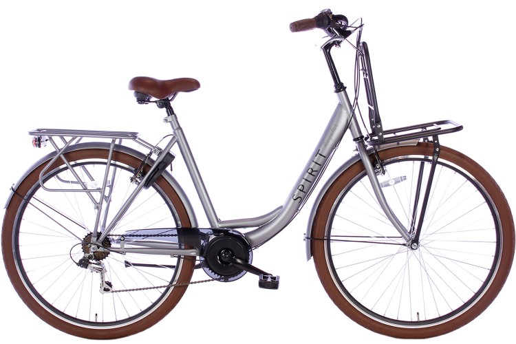 Spirit Regular Plus Damesfiets 7-Speed Mat-Grijs