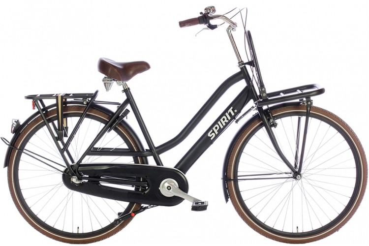 Spirit Royal N3 Mat-Zwart Transportfiets