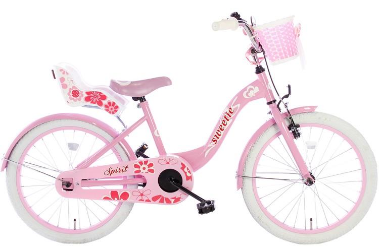 Spirit Sweetie Meisjesfiets Roze 18 inch