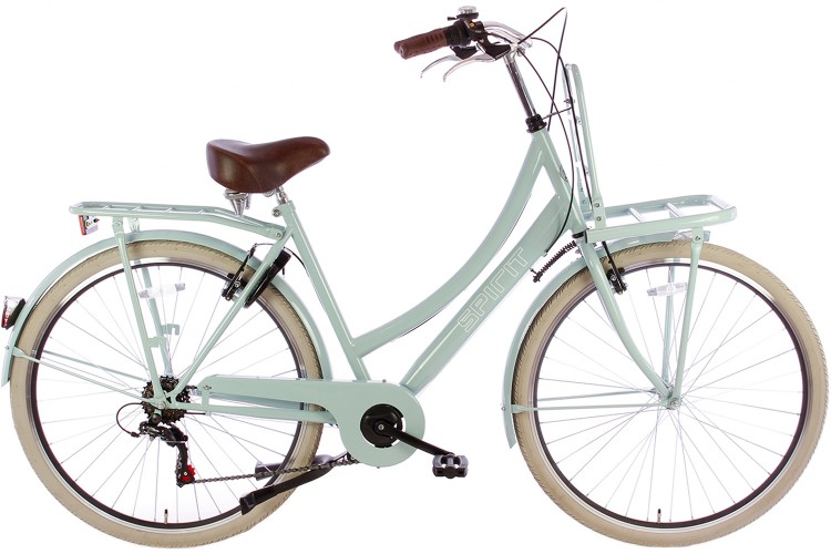 Spirit Transporter 6-Speed Damesfiets Groen
