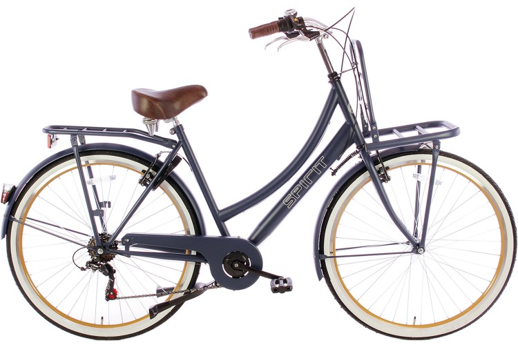 Spirit Transporter 6-Speed Damesfiets Jeans-Blauw