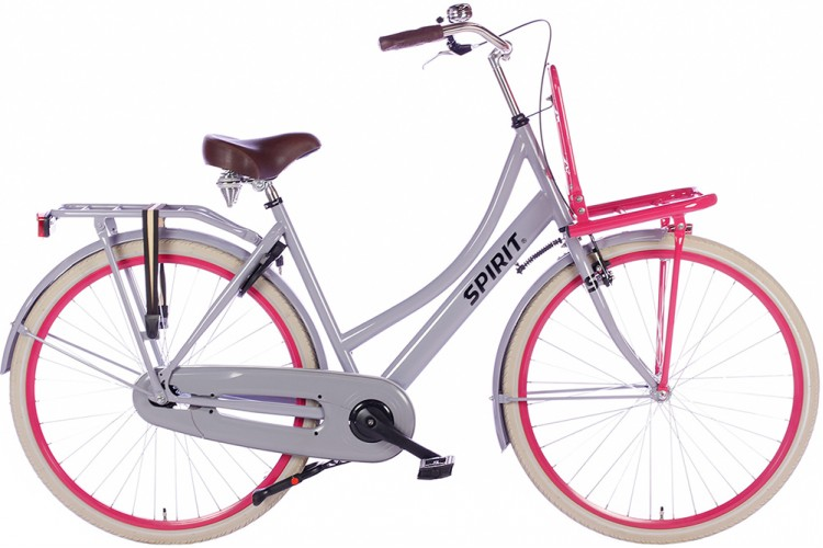 Spirit Transporter Grijs-Roze