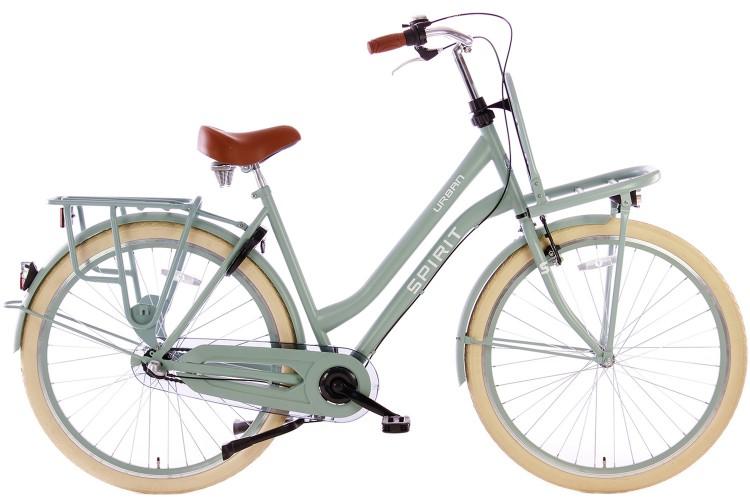 Spirit Urban N3 Transportfiets Groen