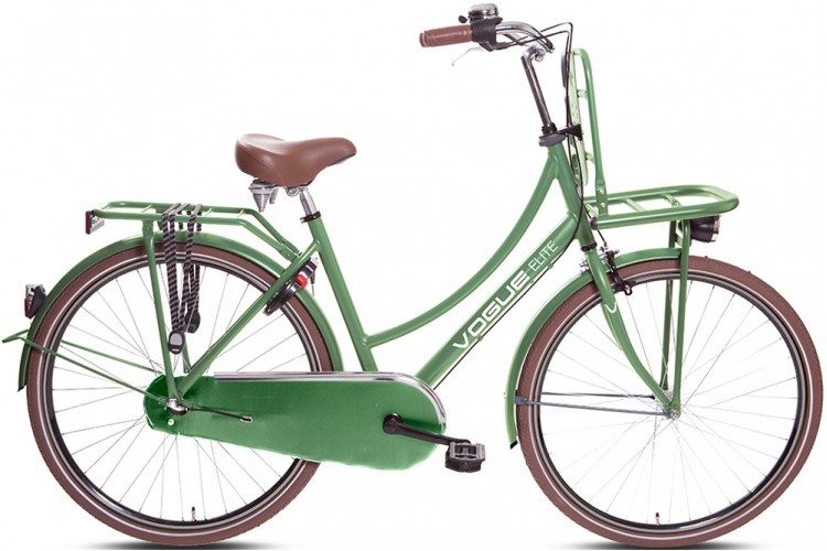 Vogue Elite Dames Transportfiets N3 Groen 2017