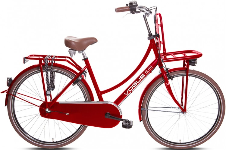 Vogue Elite Dames Transportfiets N3 Rood 2017