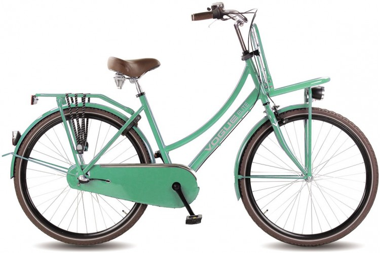 Vogue Elite Dames Transportfiets N3 Mint-Groen 2017